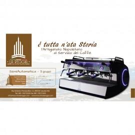 Macchina per caffè semiautomatica - 3 gruppi