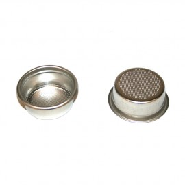 2 cups filter 14 gr. with groove