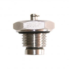 Short vent valve stainless steel seat